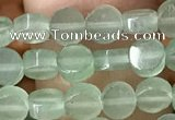 CCB513 15.5 inches 6mm coin green aventurine beads wholesale