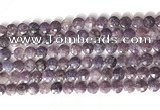 CCB757 15.5 inches 8mm faceted coin Chinese tourmaline beads