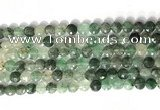 CCB762 15.5 inches 8mm faceted coin gemstone beads