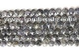 CCB772 15.5 inches 8mm faceted coin iolite gemstone beads