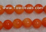 CCB82 15.5 inches 4-6mm round orange coral beads Wholesale