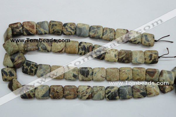 CCD01 15.5 inches 16*16mm square cordierite beads wholesale