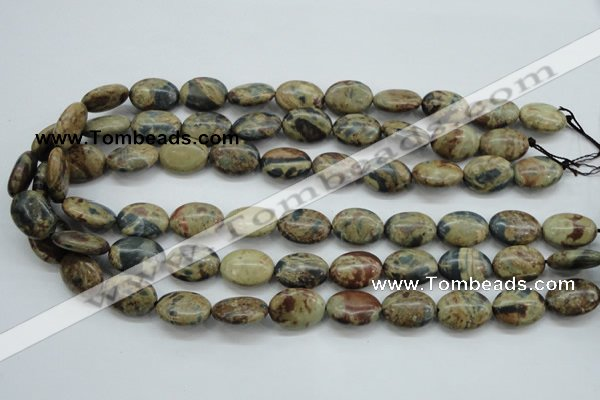 CCD05 15.5 inches 13*18mm oval cordierite beads wholesale
