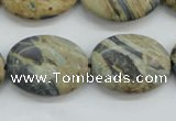 CCD06 15.5 inches 18*25mm oval cordierite beads wholesale