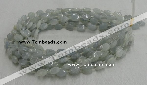CCE05 16 inches 10*13mm oval celestite gemstone beads wholesale