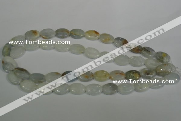 CCE14 15.5 inches 13*18mm oval natural celestite gemstone beads