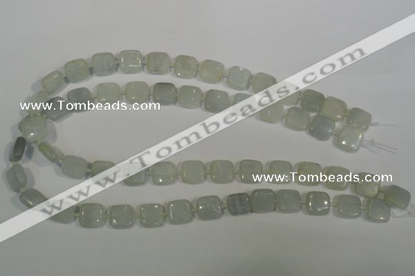 CCE17 15.5 inches 12*12mm square natural celestite gemstone beads