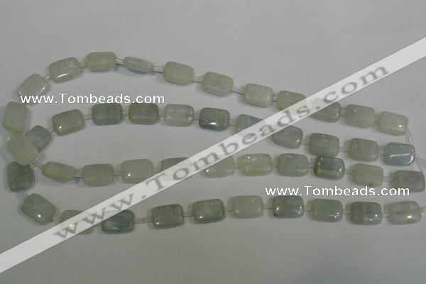 CCE20 15.5 inches 10*12mm rectangle natural celestite gemstone beads