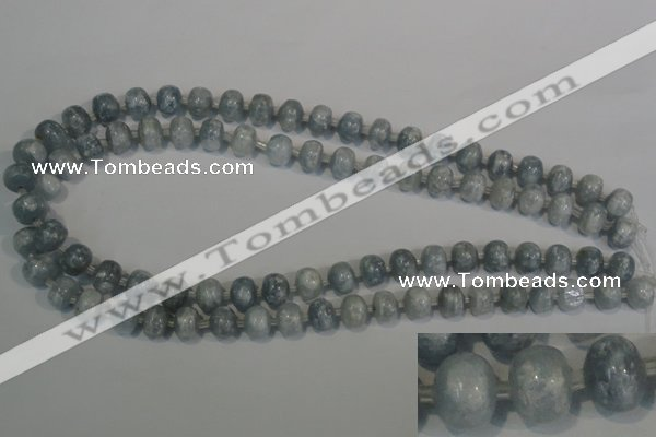 CCE22 15.5 inches 8*10mm rondelle natural celestite gemstone beads