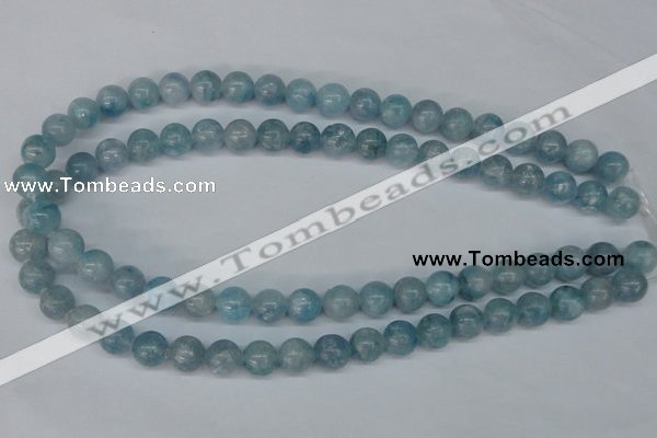 CCE52 15.5 inches 10mm round dyed natural celestite gemstone beads