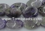 CCG06 15.5 inches 15*20mm oval natural charoite gemstone beads