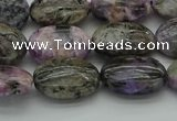 CCG102 15.5 inches 12*16mm oval charoite gemstone beads