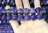 CCG142 15.5 inches 14mm round charoite gemstone beads