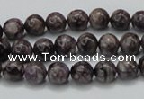 CCG20 15.5 inches 8mm round natural charoite gemstone beads