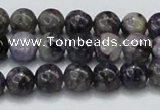 CCG21 15.5 inches 10mm round natural charoite gemstone beads