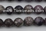 CCG58 15.5 inches 11mm faceted round natural charoite beads