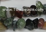 CCH230 34 inches 5*8mm Indian agate chips gemstone beads wholesale