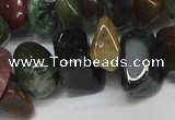 CCH304 34 inches 8*12mm Indian agate chips gemstone beads wholesale