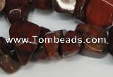 CCH307 34 inches 8*12mm brecciated jasper chips gemstone beads wholesale
