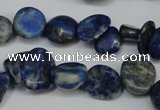 CCH325 15.5 inches 10*15mm lapis lazuli chips gemstone beads wholesale
