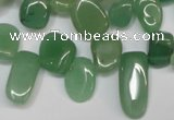 CCH329 15.5 inches 10*15mm green aventurine chips beads wholesale