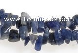 CCH33 35 inches blue sodalite chips gemstone beads wholesale