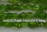 CCH675 15.5 inches 4*6mm - 5*8mm peridot gemstone chips beads