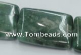 CCJ03 15.5 inches 30*40mm rectangle natural African jade beads wholesale