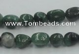 CCJ11 15.5 inches 8*12mm nugget natural African jade beads wholesale