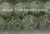 CCJ205 15.5 inches 14mm round China jade beads wholesale