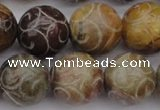 CCJ215 15.5 inches 14mm round China jade beads wholesale