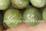 CCJ314 15.5 inches 12mm round China jade beads wholesale