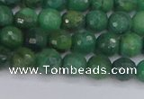 CCJ411 15.5 inches 6mm faceted round west African jade beads