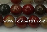 CCJ454 15.5 inches 12mm round colorful jasper beads wholesale