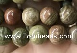 CCJ470 15.5 inches 4mm round rainbow jasper beads wholesale