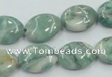 CCJ50 15.5 inches 13*18mm oval African jade gemstone beads