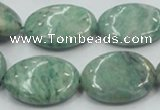 CCJ51 15.5 inches 18*25mm oval African jade gemstone beads
