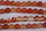 CCL02 15 inches 6mm round carnelian gemstone beads wholesale