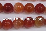 CCL05 15 inches 12mm round carnelian gemstone beads wholesale