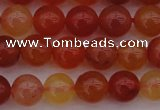 CCL61 15.5 inches 6mm round carnelian gemstone beads wholesale