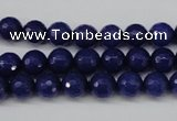 CCN1213 15.5 inches 8mm faceted round candy jade beads wholesale