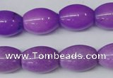 CCN126 15.5 inches 13*18mm rice candy jade beads wholesale
