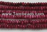 CCN1350 15.5 inches 2*4mm faceted rondelle candy jade beads