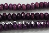 CCN1373 15.5 inches 5*8mm faceted rondelle candy jade beads