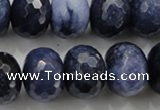 CCN1438 15.5 inches 13*18mm faceted rondelle candy jade beads