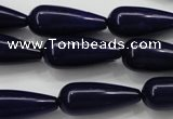 CCN1685 15.5 inches 10*25mm teardrop candy jade beads wholesale