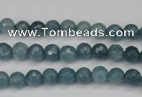 CCN1910 15 inches 4mm faceted round candy jade beads wholesale