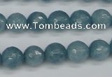 CCN1913 15 inches 10mm faceted round candy jade beads wholesale