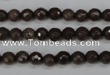 CCN1931 15 inches 6mm faceted round candy jade beads wholesale