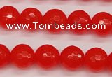CCN1954 15 inches 12mm faceted round candy jade beads wholesale